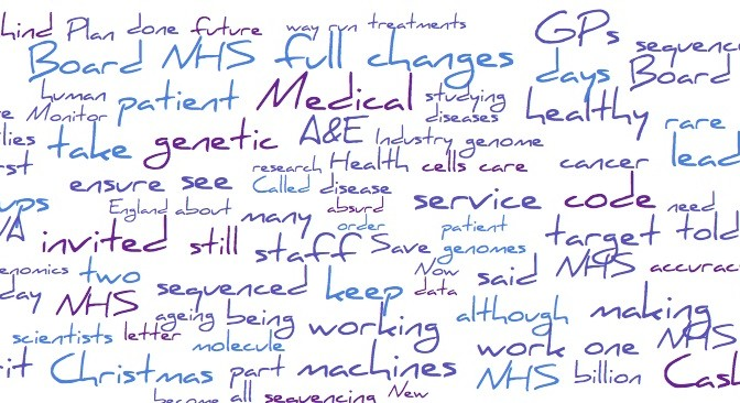 A review of NHS news in 2014, from 'the Spirit of the NHS Future'.