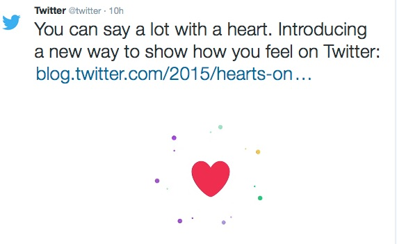 Whether we star or heart, what matters is what Twitter's done to our data, its meaning and use
