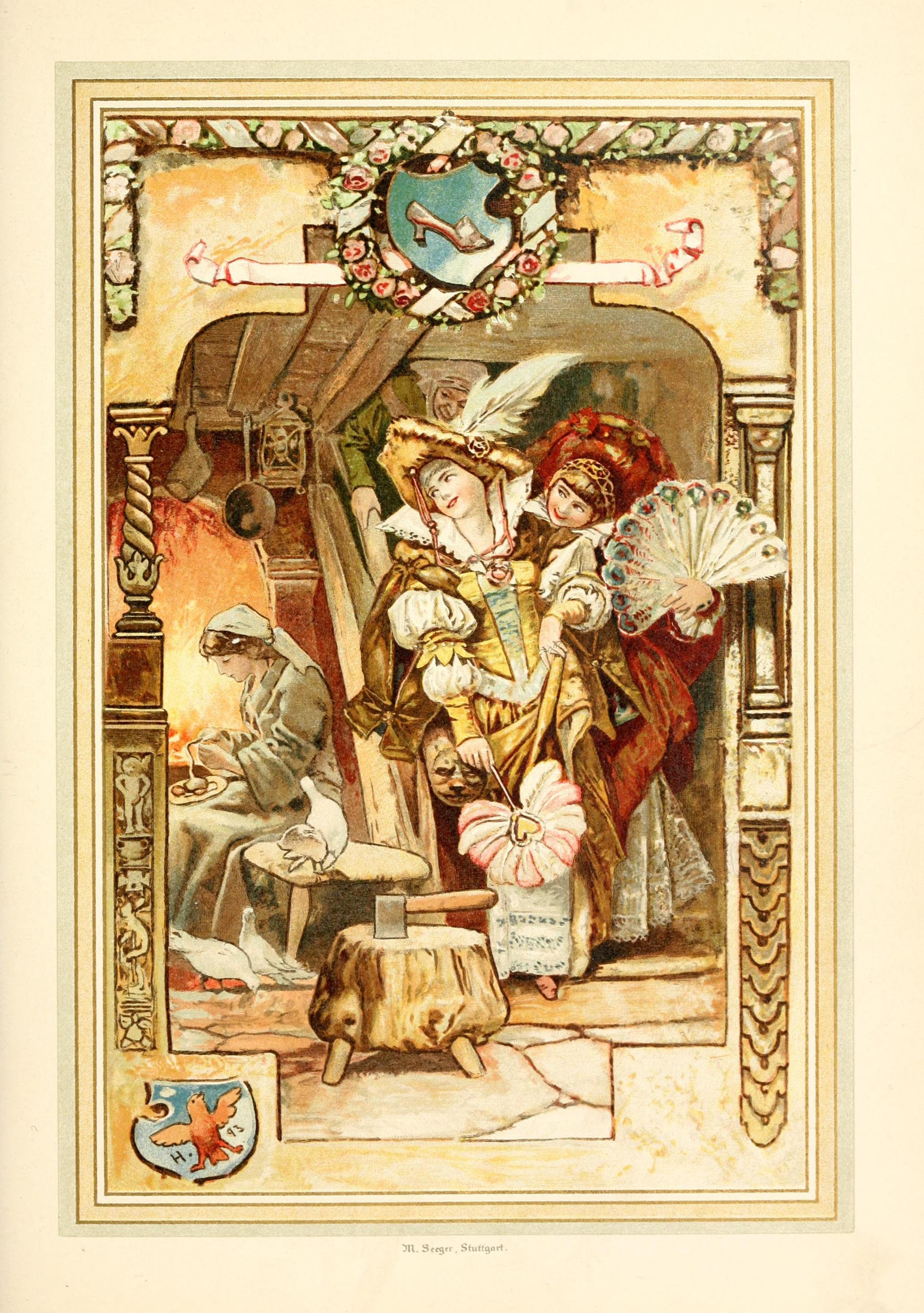 a comparison of the grimm brothers and charles perrault in the different versions of cinderella An illustrated treasury of grimm's fairy tales: cinderella, sleeping beauty, hansel and gretel and many more classic stories may 15, 2013 by grimm, jacob and wilhelm and daniela drescher.