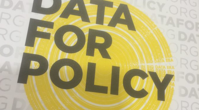 Data for Policy: Ten takeaways from the conference